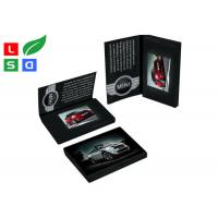 China 4.3 Inch LCD Advertising Display Video Screen Brochure With A4 A5 Full Color Printed Card wholesale
