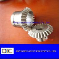 China Spur spiral bevel Gears and pinions , ring worm helical special gear wholesale