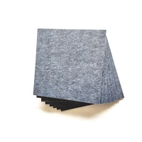 1700gsm 25mm White Polyester Fiber Acoustic Panel For Classrooms