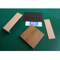 China Custom Wood Texture Precision Plastic Injection Molding Parts / Plastic Mold Parts wholesale