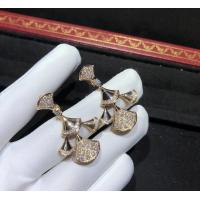 Buy cheap sophisticated 18K Gold Diamond Earrings , Bulgari Divas Dream Earrings from wholesalers