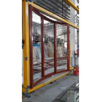 Quality Living Room Wood Aluminium Interior Sliding Doors Double Tempered Glass With for sale