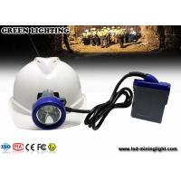 China Rechargeable LED mining light with PC material , 216lum lighting IP68 waterproof grade wholesale