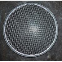 China 304 Round Stainless Steel Filter Screen , Filter Discs , Edge Treated wholesale