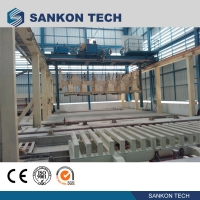 China Autoclaved Aerated Concrete Block Production Machinery in Turkey- Billet Shearing AAC Block Making Machine wholesale