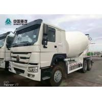 China SINOTRUK HOWO 371hp 6x4 10 Wheels 10 Cubic Meters Stock Concrete Mixer Truck on sale