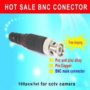 China BNC Male connector CCTV Camera BNC male connector environment friendly connector cctv accessory wholesale