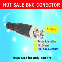 Quality BNC Male connector CCTV Camera BNC male connector environment friendly connector cctv accessory for sale