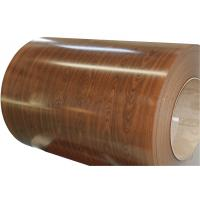 China wood color prepainted Steel Coil on sale