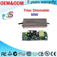 China 50W 42v triac dimmable waterproof led driver 1200ma transformer Constant Voltage Transform wholesale