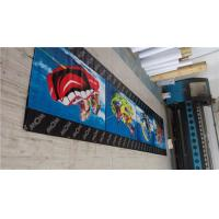 China Portable PVC Vinyl Banners Water Resistance Hemmed Edge With Grommets wholesale