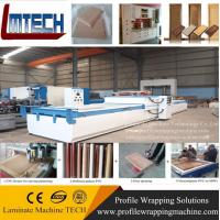 China pvc mdf folding door vacuum membrane press machine wholesale
