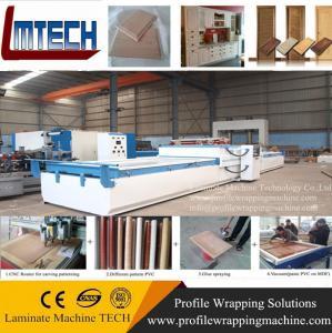 China Pvc wooden Door Making Vacuum Membrane Press Machine wholesale