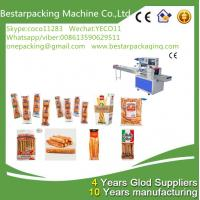 Buy cheap Flow pack machine for bread sticks,breadsticks,Lance Bread Sticks packing machine from wholesalers