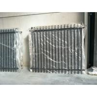 Quality Stright Spear Top Garrison Fencing Panels 2100mmx2400mm Tubular Security Fence for sale