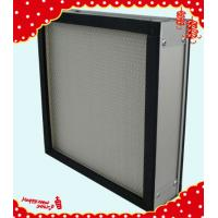 China 305x305x90mm aluminum frame mini pleated electrostatic air filter China manufacturer wholesale