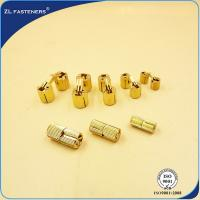 China Various Size Brass Furniture T Nut Invisible M8 / M10 / M12 / M14 / M16 / M18 wholesale