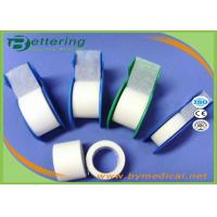 China Non Woven Micropore Adhesive Plaster Tape / Paper Surgical Tape With Dispenser Package on sale