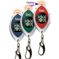 Jumbo digit LCD key chain with flash light