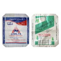 China Bopp Laminated Square Bottom PP Cement Bags With Valve Light Weight wholesale
