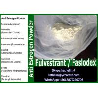 Buy cheap CAS 129453-61-8 Anti Estrogen Steroids Hormone Powder  Fulvestrant / Faslodex from wholesalers