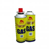China Round Shape Portable 220g and butane gas canister wholesale