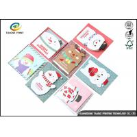 China Personalised Recycled Gaphic Paper Greeting Cards For Craft Gifts CMYK Color wholesale