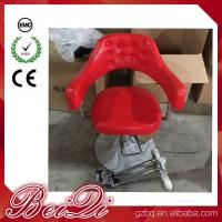 China Hair Salon Styling Chairs Used Barber Shop Equipment Antique Red Barber Chair wholesale