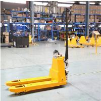 China Capacity 1500Kg Electric Pallet Truck With Max Lifting 200mm Fork Length 1220mm wholesale
