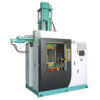 China Vertical Silicone Rubber Injection Molding Machine , 400 Ton Rubber Stopper Injection Machine 4000cc Volume wholesale