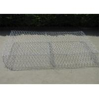 China 2mx1mx1m Double Twisted Gabion Reno Mattress Hexagonal Mesh ISO9001 wholesale