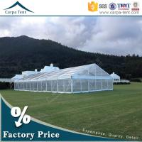 China Outdoor Corporate Event Marquees Party Tents with Transparent Walls wholesale