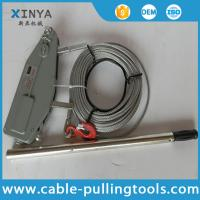 Hydraulic Link Clamps Tools Equipment Tagged Pulling: Manual Cable Pulling Tools Hand Wire Rope Winch Wire Rope