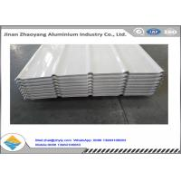China Aluminium Sandwich Panels Coated Aluminium Corrugated Sheet For Construction wholesale
