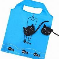 China Foldable shopping bag, various designs are available wholesale
