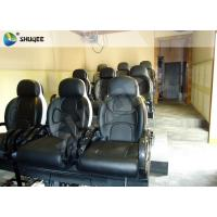 China Black Luxury Seats 7d Simulator Cinema Motion Chair In Genuine Leather Material wholesale