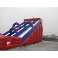 China Musement Park Giant Inflatable Water Slide For Rent Fire Resistance wholesale