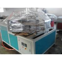 China PVC Twin Pipe Extruder , Plastic Pipe Extrusion Line / Machinery wholesale