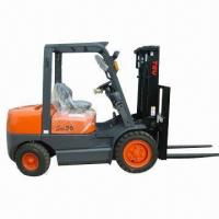 Buy cheap Gasoline Forklift with 3.5T Loading Capacity, Manual Shift from wholesalers