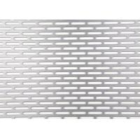 China Slotted Hole Perforated Sheet , 3003 H14 Perforated Metal Sheet 0.3mm - 5mm Thickness wholesale