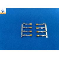 China Ptich 1.27mm Wire Connector Terminals, SATA crimp terminals With Phosphor Bronzne Material wholesale