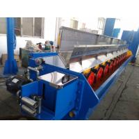China Aluminium Rod Breakdown Machine , 160KW Main Motor Large Wire Making Machine wholesale