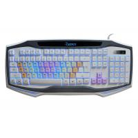 China USB Wired Adjustable Backlit Gaming Computer Keyboard Rainbow Color Keycap wholesale