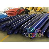 Quality Customized Bule Inflatable Tube Inflatable Floating Water Game For lake for sale