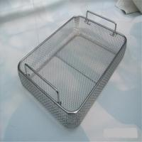 China Rectangle Wire Mesh Basket Strainer 1-300mm Diameter For  Chemical Products on sale