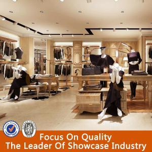 China name brand clothing store showcase furniture on sale