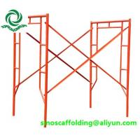 Wholesale Best Quality scaffolding frame for construction from china suppliers