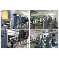 Quality High Speed 7 Motor Equip Computer Control Rotogravure Printing Machine for sale