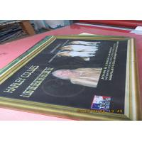 China Digital Four Colormesh Vinyl Banner , Double Sided Mesh Banner With Copper Grommet wholesale