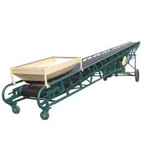 Buy cheap used in industry hopper belt conveyor from wholesalers